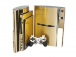 Sony PlayStation 3 Skin :: Brushed Gold