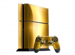 Sony PlayStation 4 Skin :: Brushed Gold