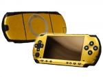 Sony PSP Skin :: Brushed Gold