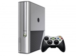 Microsoft Xbox 360 (3rd Gen) Skin :: Brushed Silver