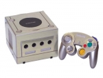 Nintendo GameCube Skin :: Brushed Silver