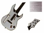 Guitar Hero 5 Genericaster Guitar for the Wii Skin :: Brushed Silver