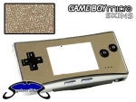Nintendo Gameboy Micro Skin :: Brushed Silver
