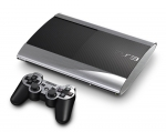 Sony PlayStation 3 Super Slim Skin :: Brushed Silver