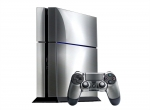 Sony PlayStation 4 Skin :: Brushed Silver