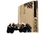 Sony PlayStation 3 Slim Skin :: Diamond Plate Silver