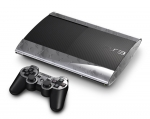 Sony PlayStation 3 Super Slim Skin :: Diamond Plate Silver