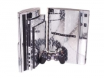 Sony PlayStation 3 Skin :: Diamond Plate Silver
