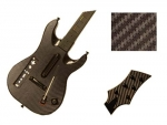 Guitar Hero 5 Genericaster Guitar for the Wii Skin :: Carbon Fiber