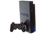 Sony PlayStation 2 Skin :: Carbon Fiber
