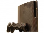 Sony PlayStation 3 Slim Skin :: Carbon Fiber
