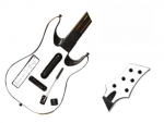 Guitar Hero 5 Genericaster Guitar for the Wii Skin :: White