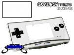 Nintendo Gameboy Micro Skin :: White