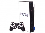 Sony PlayStation 2 Skin :: White