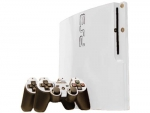 Sony PlayStation 3 Slim Skin :: White