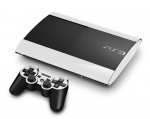 Sony PlayStation 3 Super Slim Skin :: White
