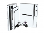 Sony PlayStation 3 Skin :: White