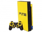 Sony PlayStation 2 Skin :: Yellow