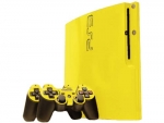 Sony PlayStation 3 Slim Skin :: Yellow