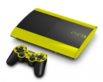Sony PlayStation 3 Super Slim Skin :: Yellow