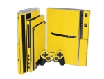 Sony PlayStation 3 Skin :: Yellow