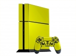 Sony PlayStation 4 Skin :: Yellow