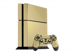 Sony PlayStation 4 Skin :: Cream