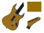 Guitar Hero 3 Les Paul Guitar for the PS2 Skin :: Gold