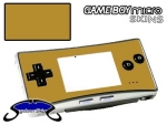 Nintendo Gameboy Micro Skin :: Gold