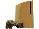 Sony PlayStation 3 Slim Skin :: Gold