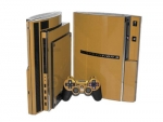 Sony PlayStation 3 Skin :: Gold