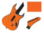 Guitar Hero 3 Les Paul Guitar for the PS2 Skin :: Orange