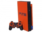 Sony PlayStation 2 Skin :: Orange