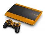 Sony PlayStation 3 Super Slim Skin :: Orange