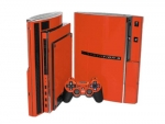 Sony PlayStation 3 Skin :: Orange
