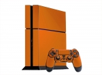 Sony PlayStation 4 Skin :: Orange