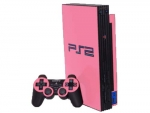 Sony PlayStation 2 Skin :: Soft Pink
