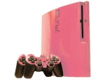 Sony PlayStation 3 Slim Skin :: Soft Pink