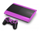 Sony PlayStation 3 Super Slim Skin :: Soft Pink