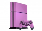Sony PlayStation 4 Skin :: Soft Pink