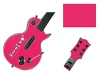 Guitar Hero 3 Les Paul Guitar for the Nintendo Wii Skin :: Pink