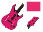 Guitar Hero 5 Genericaster Guitar for the Wii Skin :: Pink