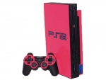 Sony PlayStation 2 Skin :: Pink