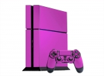 Sony PlayStation 4 Skin :: Pink