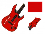 Guitar Hero 5 Genericaster Guitar for the Wii Skin :: Red