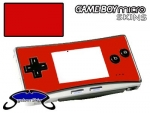 Nintendo Gameboy Micro Skin :: Red