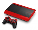 Sony PlayStation 3 Super Slim Skin :: Red