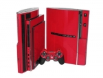 Sony PlayStation 3 Skin :: Red