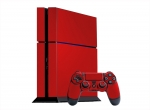 Sony PlayStation 4 Skin :: Red