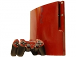 Sony PlayStation 3 Slim Skin :: Burgundy